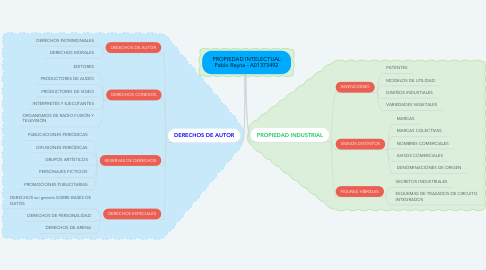 Mind Map: Razones Financieras Pablo Reyna - A01373492