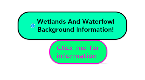 Mind Map: Wetlands And Waterfowl Background Information!