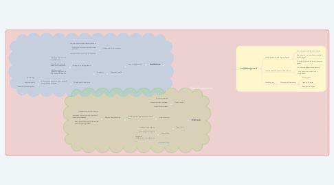 Mind Map: Care Management