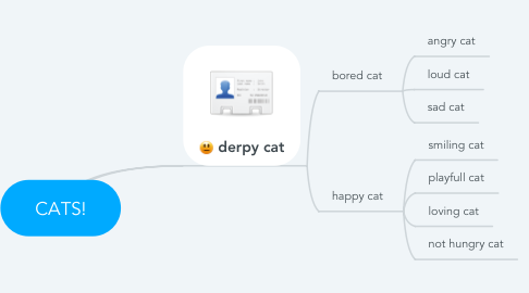 Mind Map: CATS!