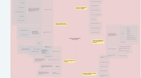 Mind Map: TABLAS DE ORGANIZACIÓN Y EQUIPO (TOE)