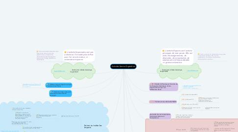 Mind Map: Activités Service Expédition