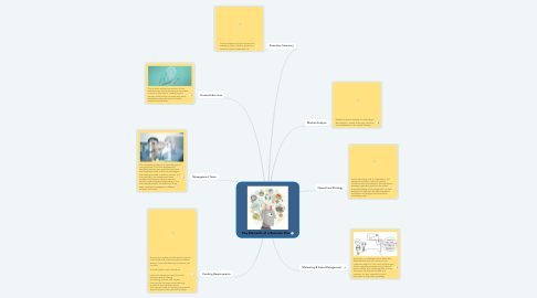 Mind Map: Key Elements of a Business Plan