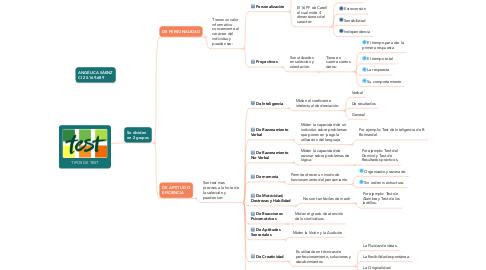 Mind Map: TIPOS DE TEST