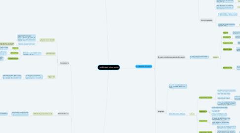 Mind Map: Usabilidad e Inmersión
