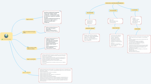 Mind Map: TIPOS DE AUDITORIA