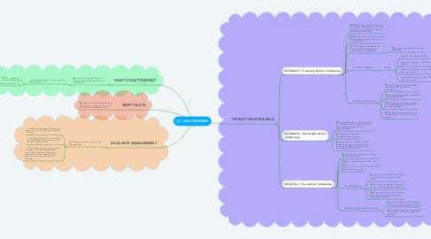 Mind Map: C4 - MULTIPLEXING