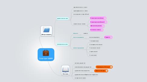 Mind Map: Структура ЦДМК