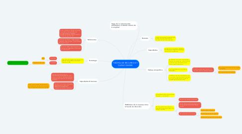 Mind Map: TEORÍA DE RECURSOS Y CAPACIDADES