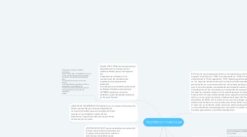 Mind Map: TELEFÉRICO Y FUNICULAR