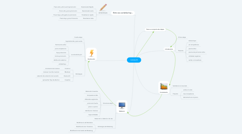 Mind Map: CANALES