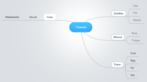 Mind Map: I haven