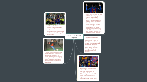 Mind Map: Lionel Messi By:Trent Stupalski