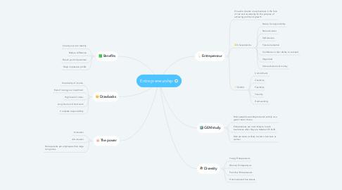 Mind Map: Entrepreneurship