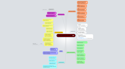 Mind Map: ZARA HOME INFLUENCERS