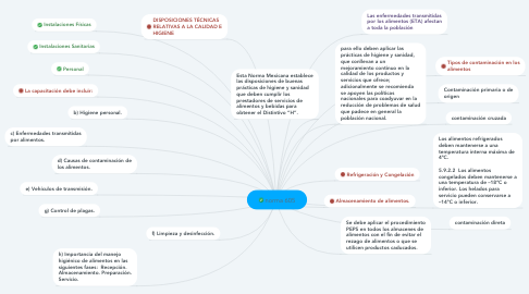 Mind Map: norma 605