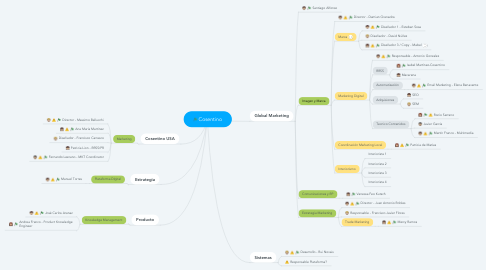 Mind Map: Cosentino