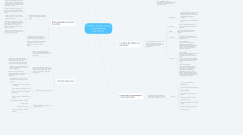 Mind Map: Unidad 5. Conflicto, cambio y transformación  organizacional