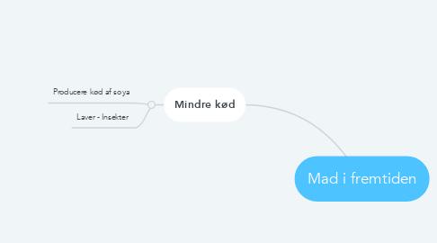 Mind Map: Mad i fremtiden