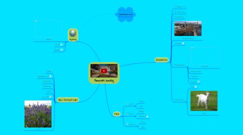 Mind Map: Primorski zavičaj