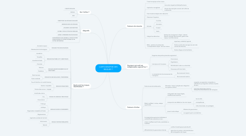Mind Map: CARTOGRAPHIE DES RISQUES ?