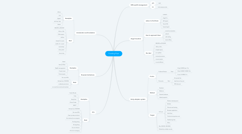 Mind Map: Funding PLan