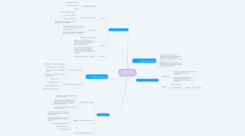 Mind Map: COURTS AND JURISDICTION