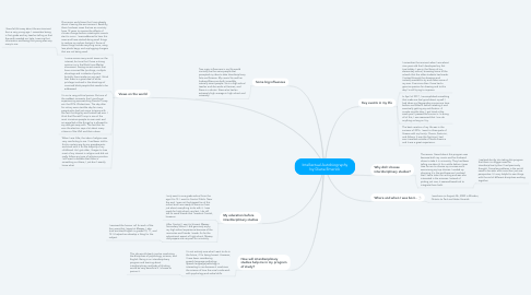 Mind Map: Intellectual Autobiography by Diana Emerick