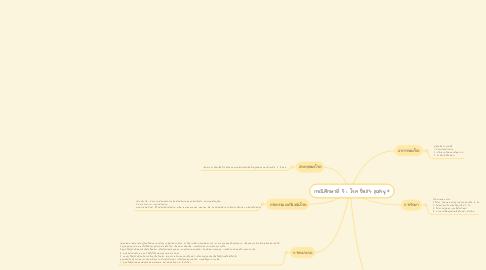 Mind Map: กรณีศึกษาที่ 5 : โรค Bell's palsy