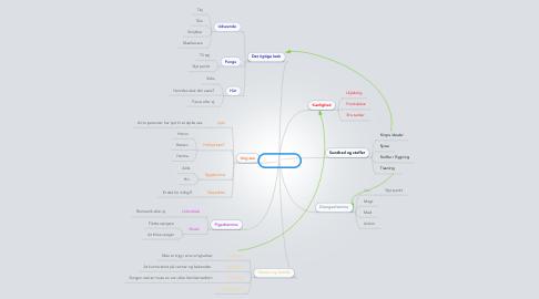 Mind Map: Teenageliv