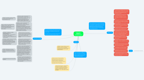 Mind Map: PRINCIPIOS, DEBERES Y PROHIBICIONES