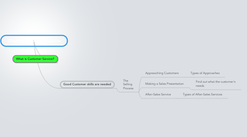Mind Map: Chapter 7: Customer Service