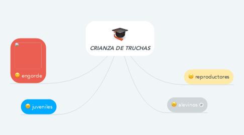 Mind Map: CRIANZA DE TRUCHAS