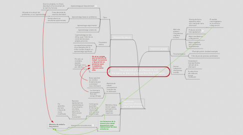 Mind Map: The practice of a profession is not the same as learning to practice the profession.