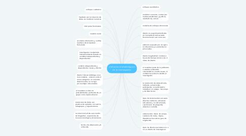 Mind Map: elementos metodológicos de la investigación