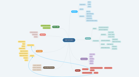 Mind Map: RAP IN PARIS