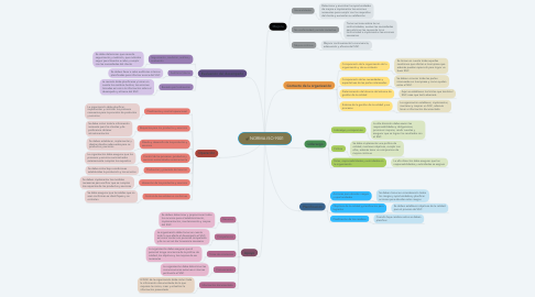 Mind Map: NORMA ISO 9001