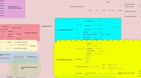 Mind Map: Patologías Renales