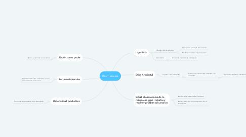 Mind Map: Biomimesis