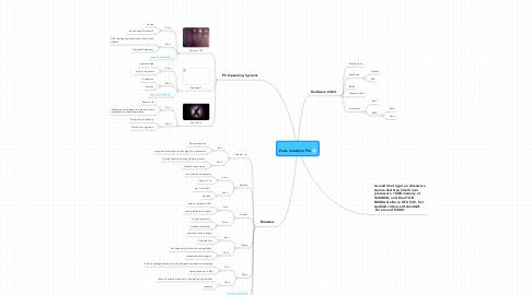 Mind Map: Paula Caballero PCs
