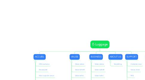 Mind Map: E-Luggage