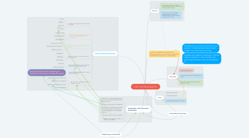Mind Map: CAS in the L&L programme