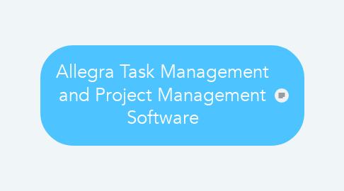 Mind Map: Allegra Task Management and Project Management Software