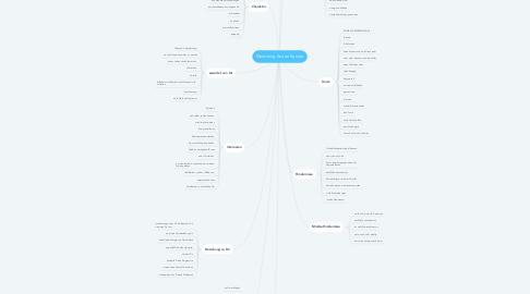 Mind Map: Mentoring Avatar Sandra
