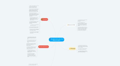 Mind Map: Elementos de la obra: Doña Rosita, la soltera