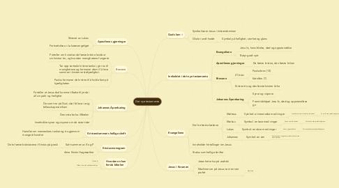 Mind Map: Det nye testamente
