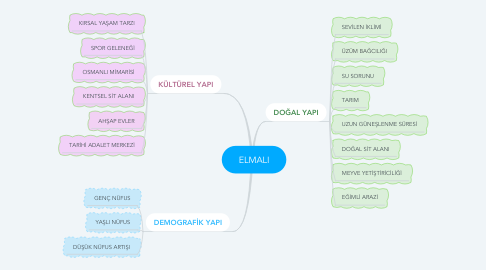 Mind Map: ELMALI