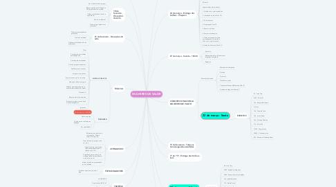 Mind Map: MULHERES DE VALOR