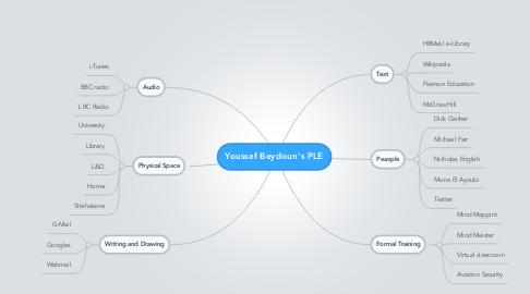 Mind Map: Youssef Beydoun's PLE