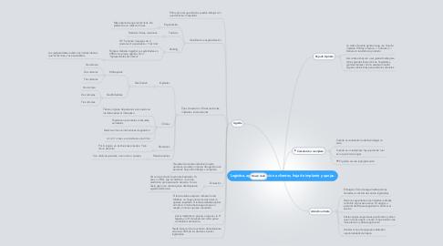 Mind Map: Logistica, agenda, atención a clientes, hoja de implante y quejas.